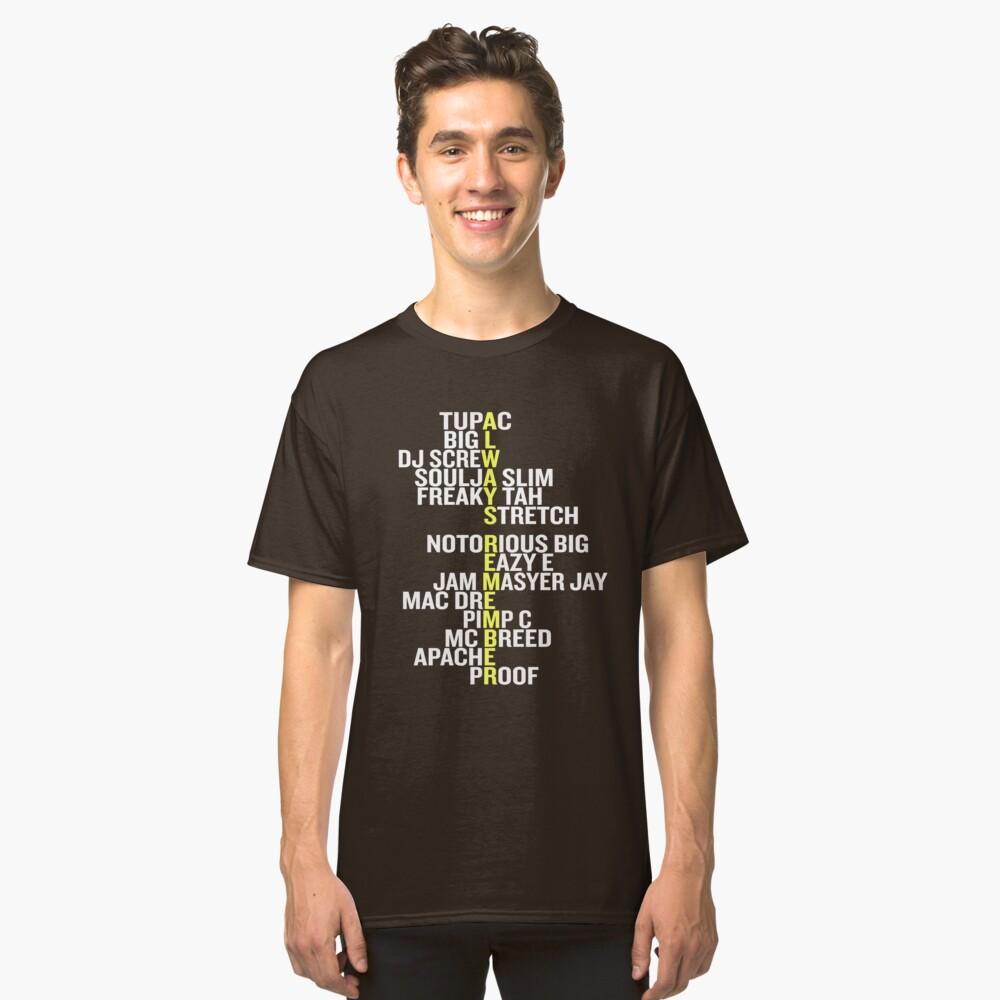 Old School Hip Hop 80's Rap 90's Rappers T Shirt