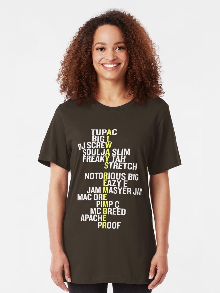 Old School Hip Hop 80's Rap 90's Rappers T Shirt | Slim Fit T-Shirt