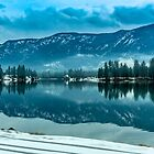 The Mountains Reflected in the River by Bryan D. Spellman
