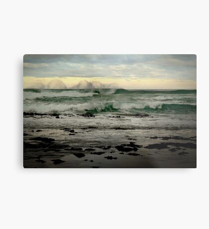 Wispy Surf,Great Ocean Road Metal Print