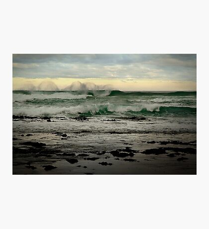 Wispy Surf,Great Ocean Road Photographic Print