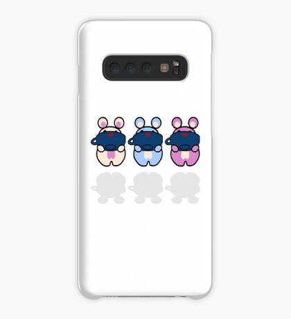 STPC: Three Chibis (Sipping Tea) Case/Skin for Samsung Galaxy