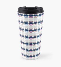 STPC: Three Chibis (Sipping Tea) Travel Mug