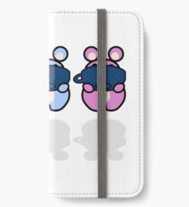STPC: Three Chibis (Sipping Tea) iPhone Wallet/Case/Skin