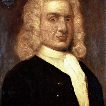 William Kidd, Privateer, PIRATE. 18th century portrait by Sir James Thornhill. by TOMSREDBUBBLE