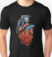 Camiseta ajustada Granada del corazón
