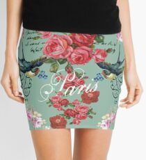 St Etienne 'Paris' Design Mini Skirt