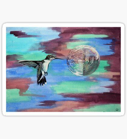 Hummingbird II Sticker