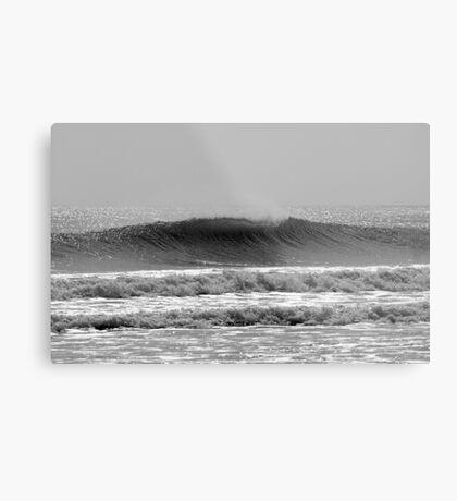 Textured Wave Metal Print
