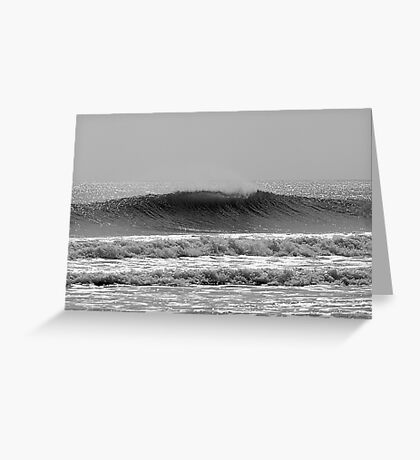 Textured Wave Greeting Card