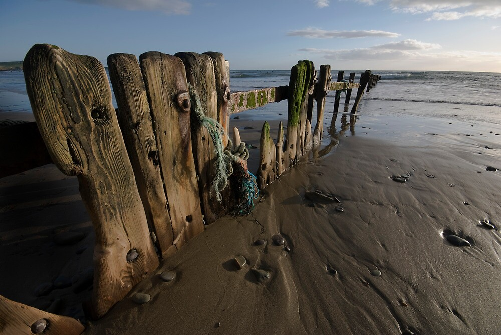 Beach Groines Garretsown Cork by OisinG
