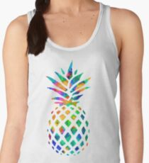 Rainbow Pineapple Women's Tank Top