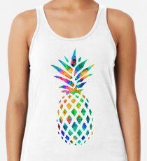 Regenbogen Ananas Tanktop für Frauen