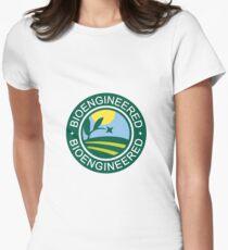 Bioengineered Label Women's Fitted T-Shirt