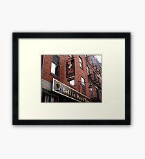 Boston: Bell in Hand Tavern Framed Print
