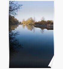 River Ribble, Lancashire, England Poster