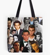 Johnny Depp Collage Tote Bag