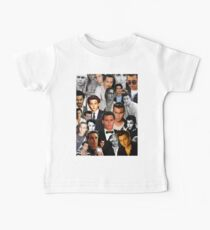 Johnny Depp Collage Baby Tee
