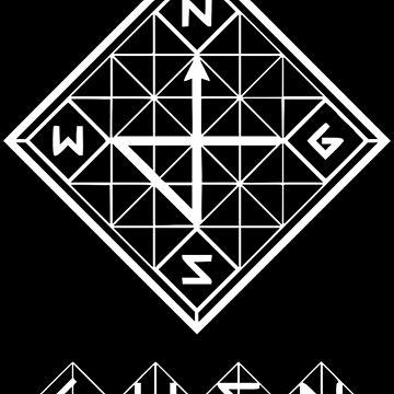 GWSN - logo blanco de bballcourt
