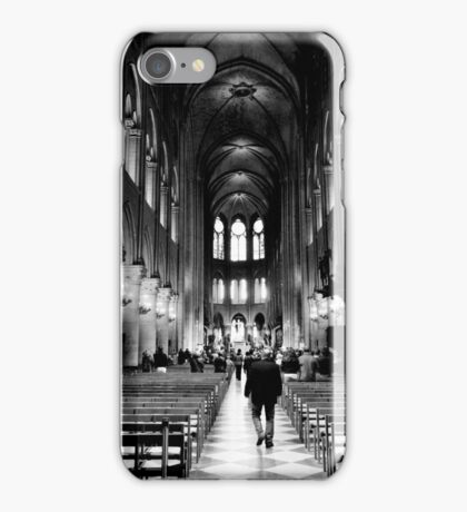 Approach the altar - Notre Dame Cathedral, Paris, France iPhone Case/Skin