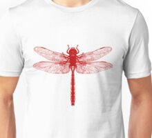 Red Dragonfly Unisex T-Shirt