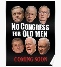 No Congress for Old Men Poster