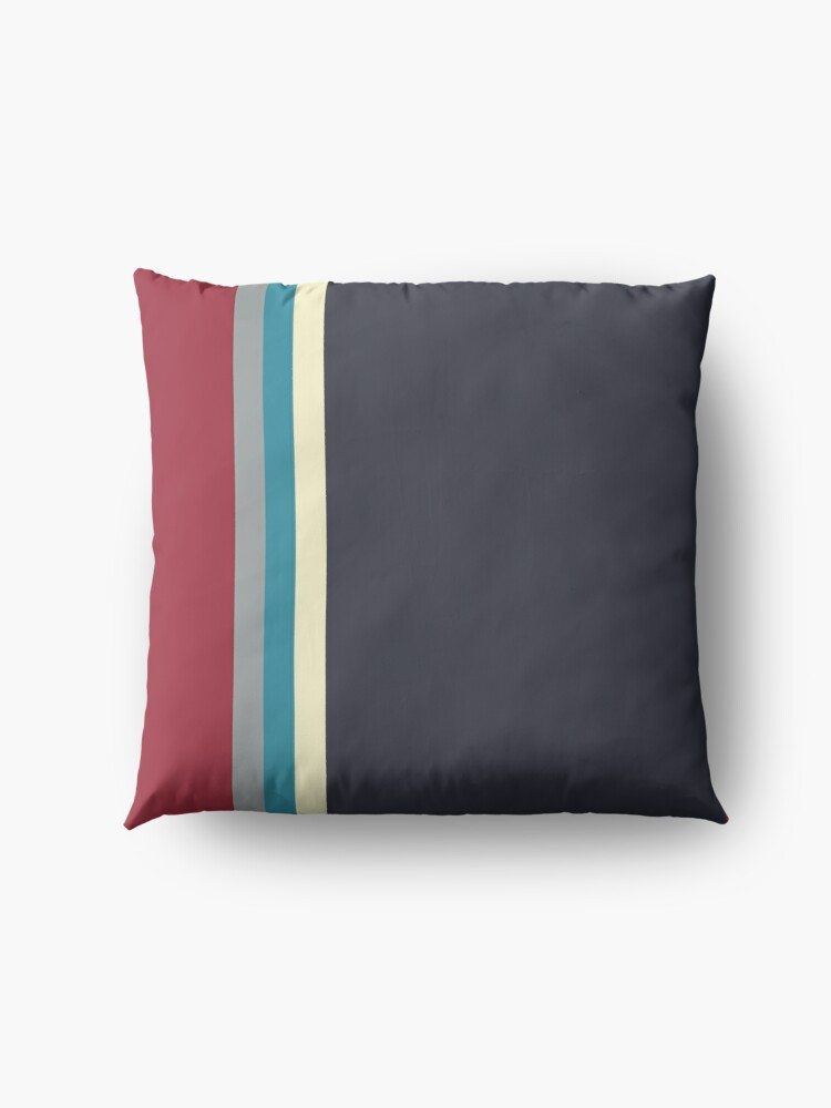 Alternate view of Mod stripes Floor Pillow