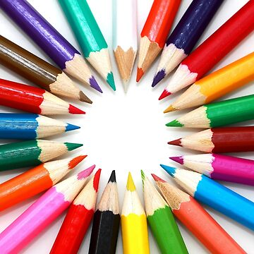 Colouring pencils by fourretout