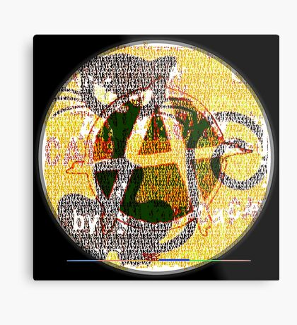 ANARCHAT 2016 05 by RootCat Metal Print