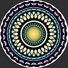 Colorfully Calm Circle Mandala by mariameep