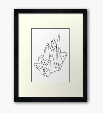 Crystal Framed Print