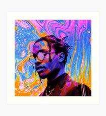 A$AP Rocky Tripping Art Print
