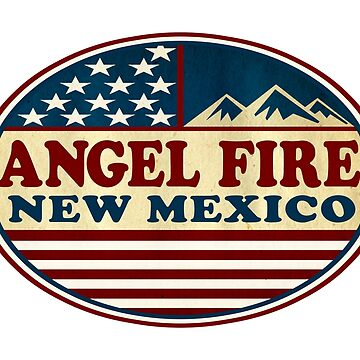 Ski Angel Fire New Mexico Skiing by MyHandmadeSigns