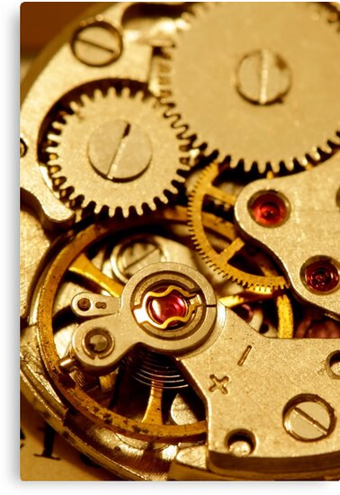 Antique watch mechanism by snehit
