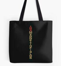 MAGNETIC FIELDS LOGO Tote Bag