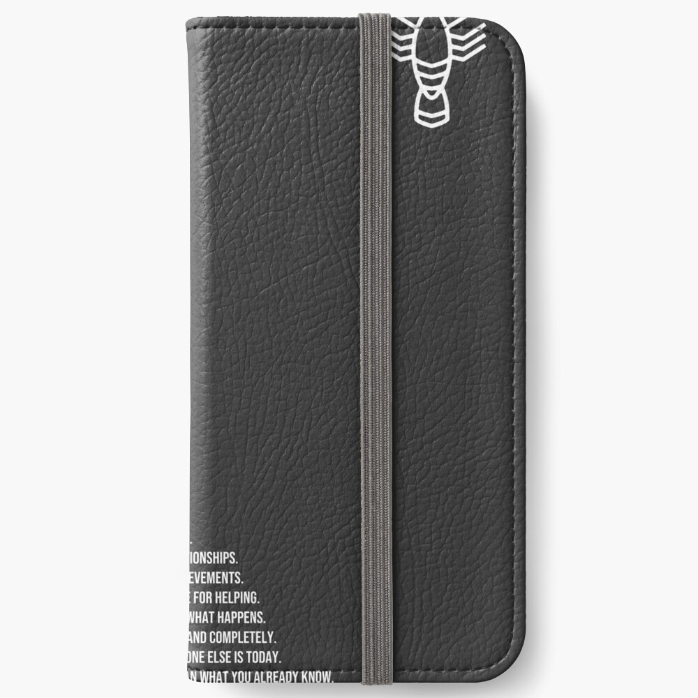 Jordan B Petersons Regeln iPhone Flip-Case