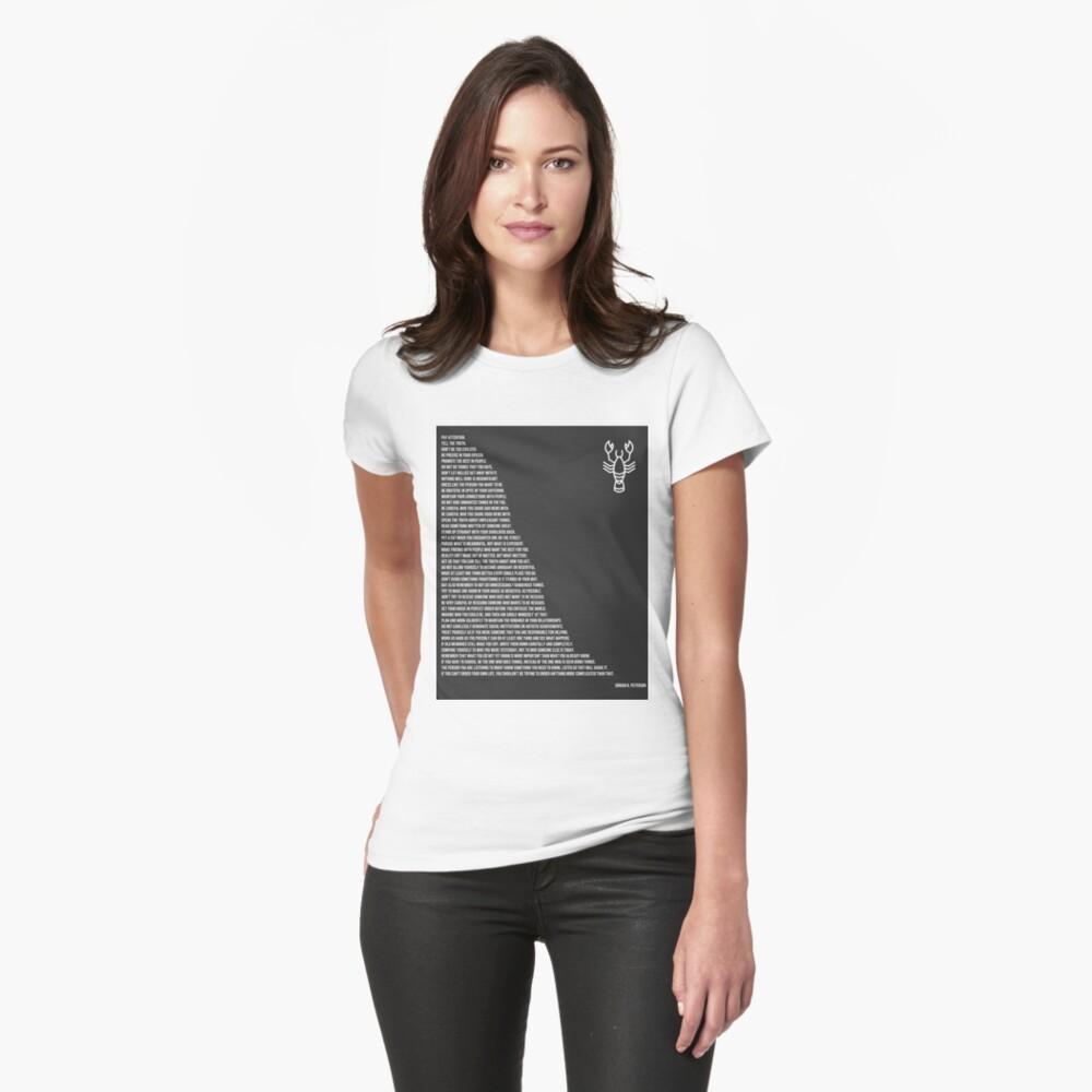 Jordan B Petersons Regeln Tailliertes T-Shirt