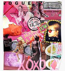 Póster Vogue Collage