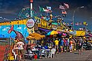 The Grill House on the Boardwalk at Coney Island  by Chris Lord