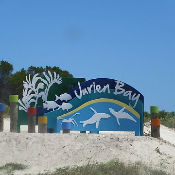 Jurien Beach Title Board by lezvee