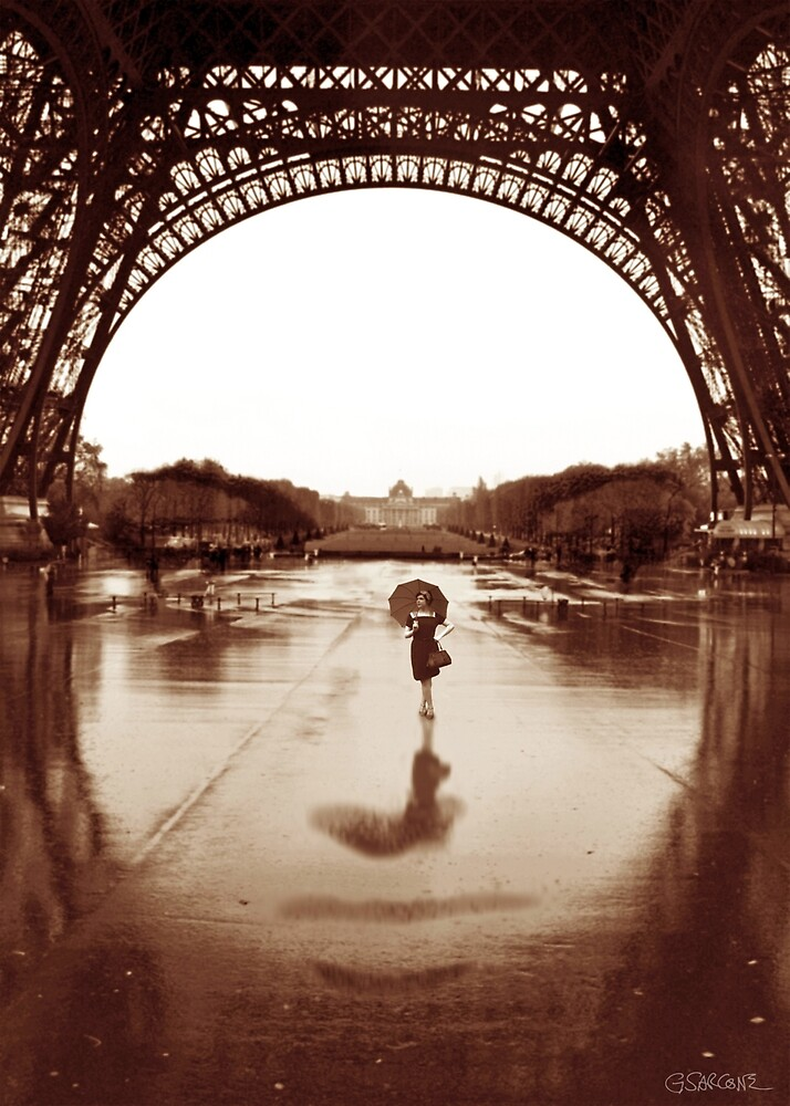 The Other Face Of Paris by Gianni A. Sarcone