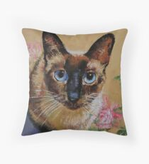 Chat siamois Coussin