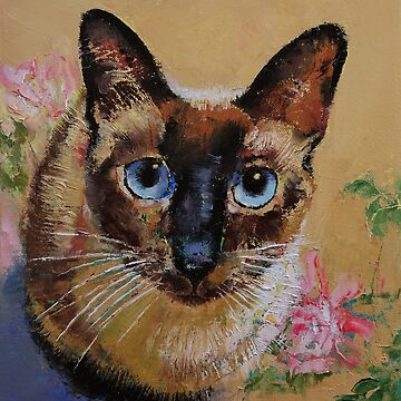 Siamese Cat by michaelcreese