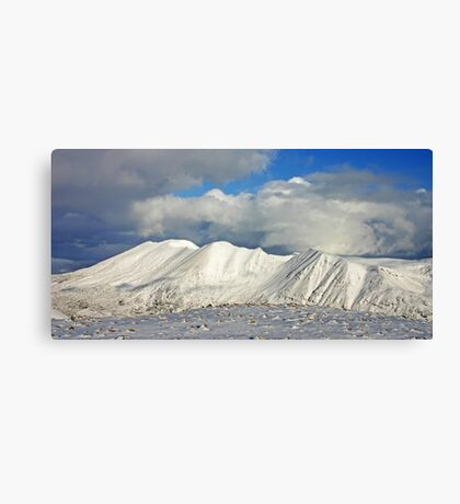 Foinaven from Arkle Canvas Print