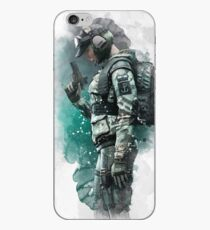 Vinilo o funda para iPhone Rainbow Six Siege Ela