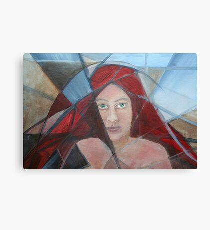 Red Head 1  Canvas Print