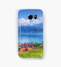 Terraced Vineyards of Lavaux UNESCO Samsung Galaxy Case/Skin