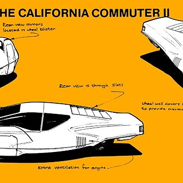 CALIFORNIA COMMUTER II by ThrowbackMotors
