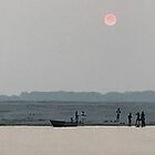 Morning at the Holy River Ganges by bubblehex08