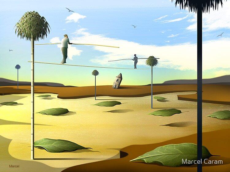 Equilibristas II by Marcel Caram